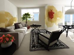Living room design 3